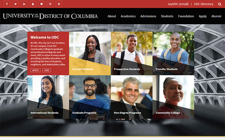 District of Columbia University WordPress
