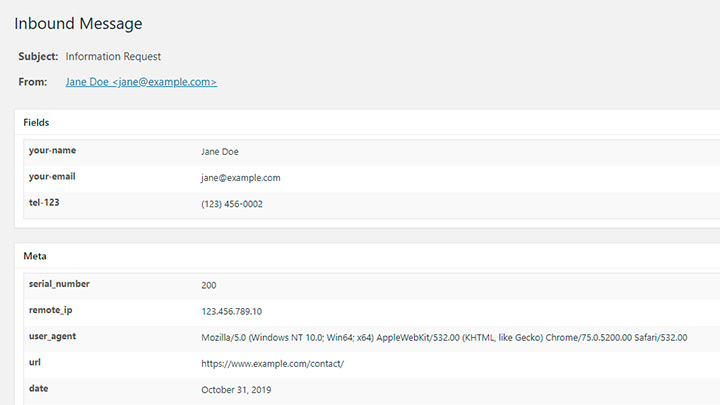 Flamingo Database Entry