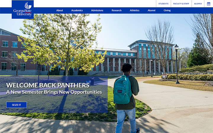 Georgia State University School Website WordPress