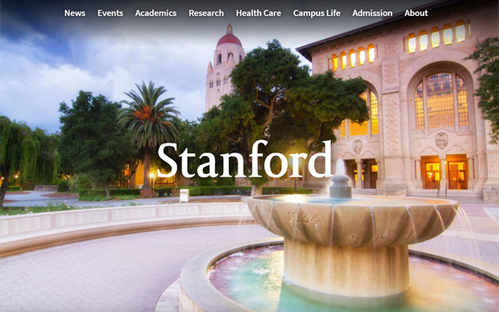Stanford School Website WordPress