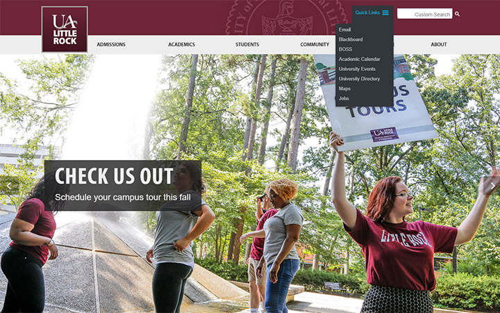 University of Arkansas WordPress