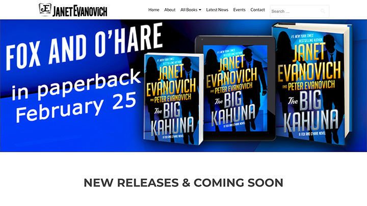 Janet Evanovich Website