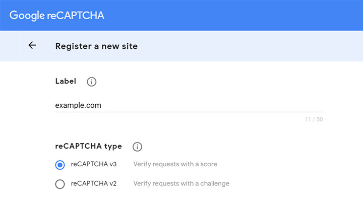 Site Secret Keys for Contact Form 7