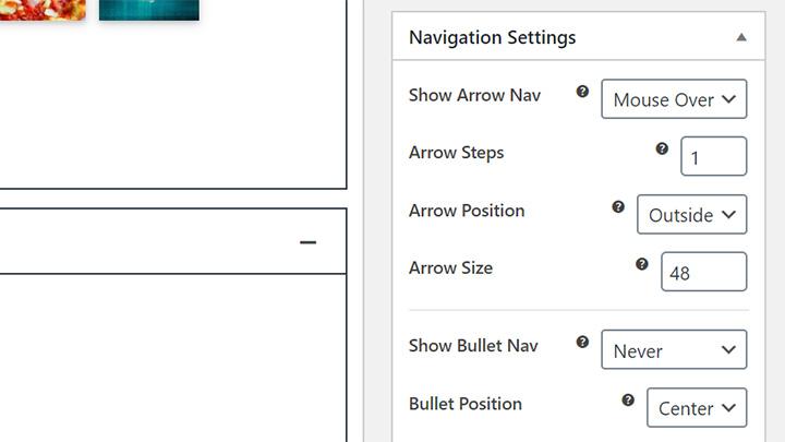 Carousel Slider Navigation Controls