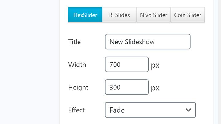 FlexSlider Mode Selected