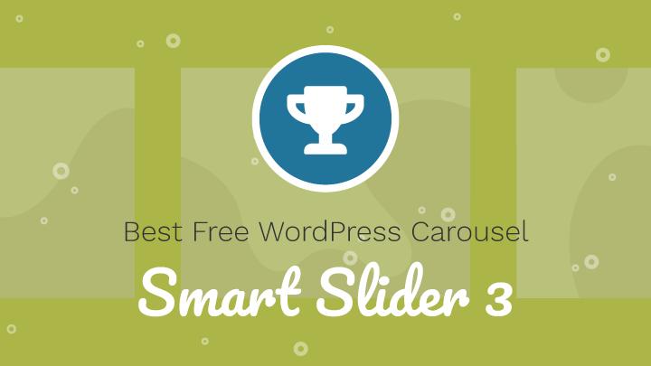 Free WordPress Carousel Award