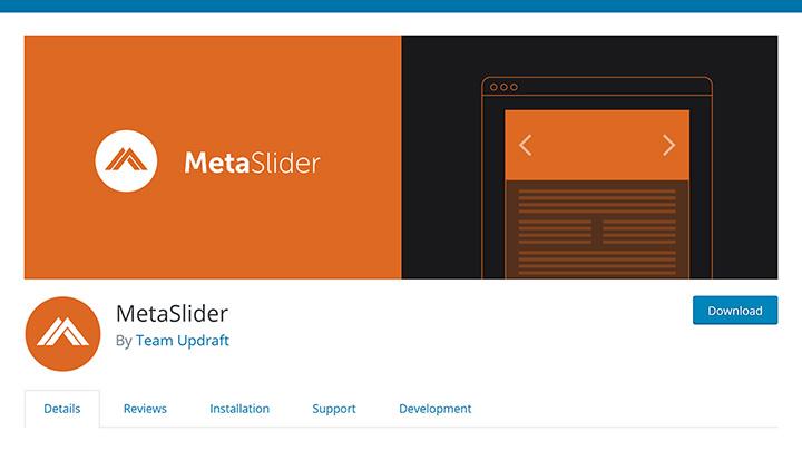 MetaSlider in Plugin Repository