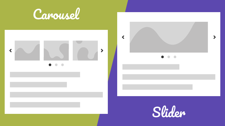 WordPress Carousel vs Slider
