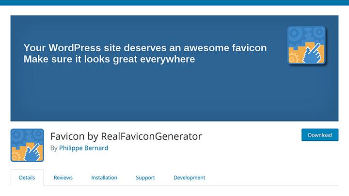 RealFaviconGenerator in Plugin Repository