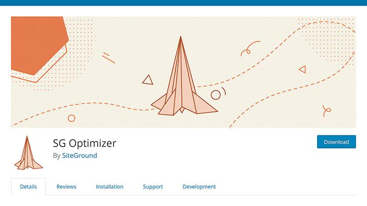 SiteGround SG Optimizer WordPress Plugin